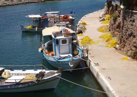 Hafen in Sisi - Kreta - Fischereihafen Sissi