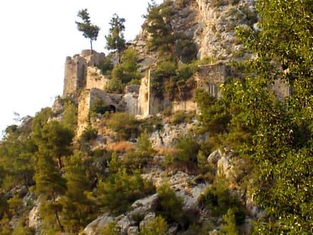 Detail der Burg - Karawanserei Alara Han