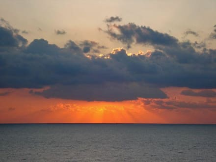 Sonnenuntergang - Hafen Cala Figuera