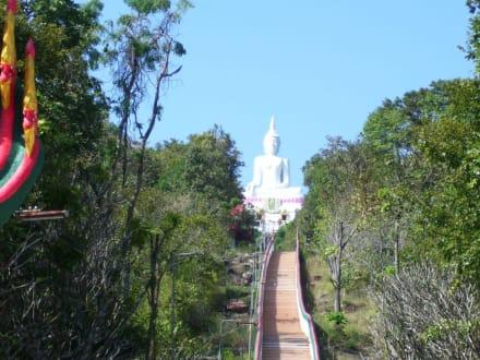 Aufstieg - Weisser Buddha