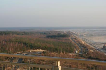 Blick gen Osten - Aussichtsturm am schweren Berg