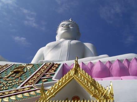 Riesengross - Weisser Buddha