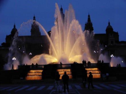 Museu National d' Art de Catalunya - Palau Nacional - Font Magica