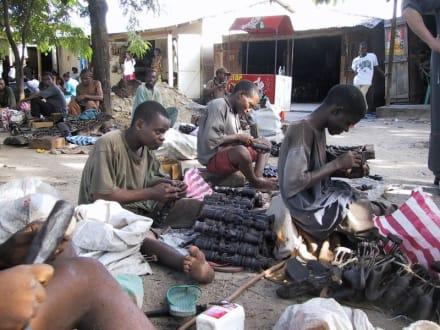 Holzmarkt in Dar es Salam - Holzmarkt