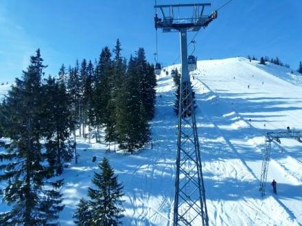 Gondelbahn - Skigebiet Schatzberg