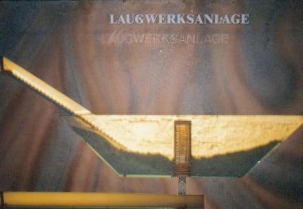 Laugwerksanlage Maßstabsgetreu - Salzbergwerk Hallein