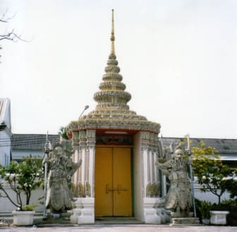 Eingang zum Wat Pho - Wat Pho