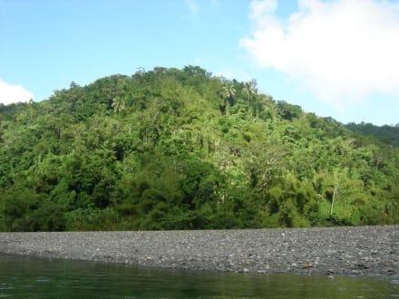 Tolle Landschaft am Rio Grande - Flossfahrt