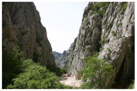 Klettern in der Paklenica Schlucht - Nationalpark Paklenica