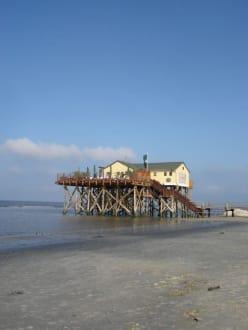 Pfahlbauten - Strand St. Peter Ording