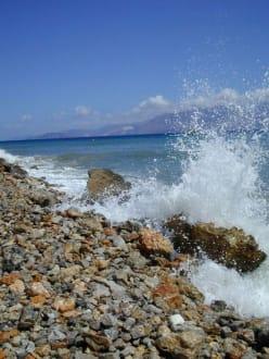 Strandabschnitt, Weg nach Agio Nicolaos - Strand Agios Nikolaos