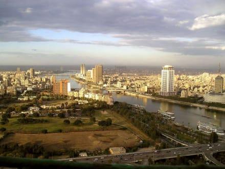 Blick vom Cairo Tower - Cairo Tower