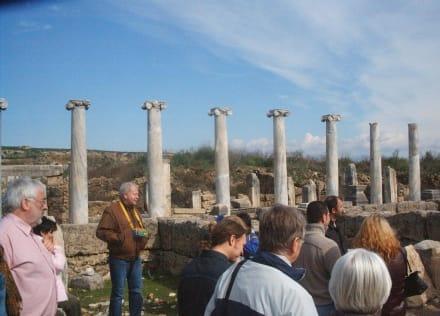 Türkeirundreise - Antike Stadt Perge