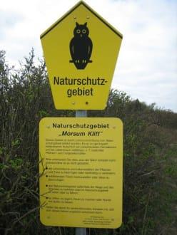 """Naturschutz """"Morsum Kliff"""" - Naturschutzgebiet Morsum Kliff"""
