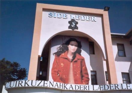 Besuch einer Lederwarenfabrik - Side Leder Komköy
