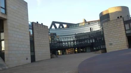 Vorbei am Landtag - Uferpromenade Düsseldorf