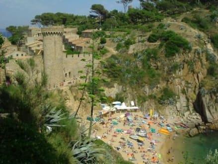 Cala Es Codolar - Tossa de Mar - Burg Tossa de Mar