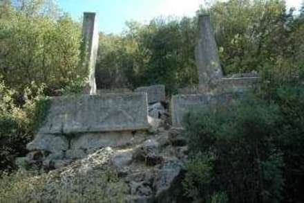 "Der berühmte ""Löwen-Sarkophag v.Termessos - Termessos"