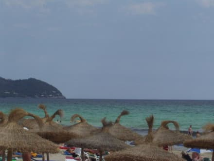 Sonne, Strand und Meer - Strand Cala Millor