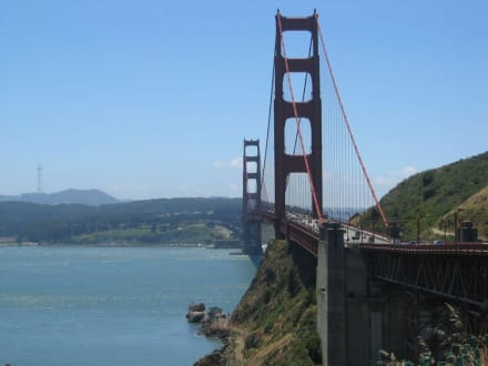 Brücke von Norden - Golden Gate Bridge