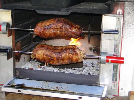rezept backofen braten auf dem grill. Black Bedroom Furniture Sets. Home Design Ideas