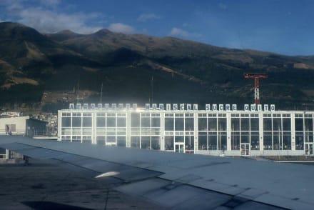 Der Flughafen von Quito - Flughafen Mariscal Sucre (UIO)