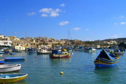 Ausflug nach Marsaxlokk - Hafen Marsaxlokk