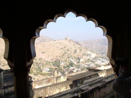 Ausblick vom Fort Amber auf die Umgebung - Fort Amber