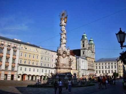 Innenstadt Linz - Dreifaltigkeitssäule