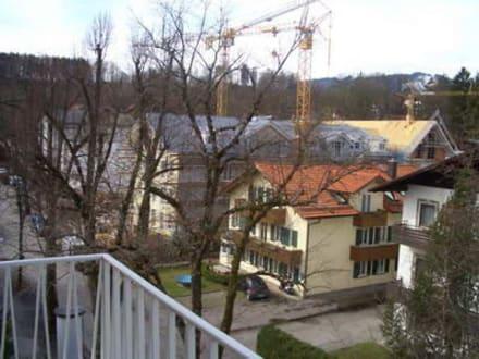 Blick vom Balkon - Hotel Jodquellenhof Alpamare (Hotelbetrieb eingestellt)