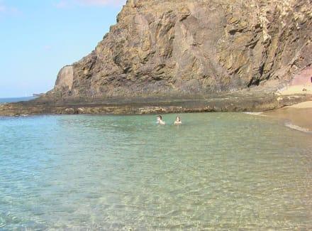 Baden an den Papagayo Stränden - Playa de Papagayo