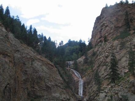 der obere Teil der Seven Falls - Seven Falls