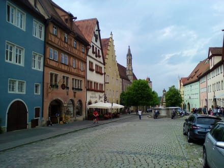 Herrngasse in Rothenburg o.d. Tauber - Herrngasse