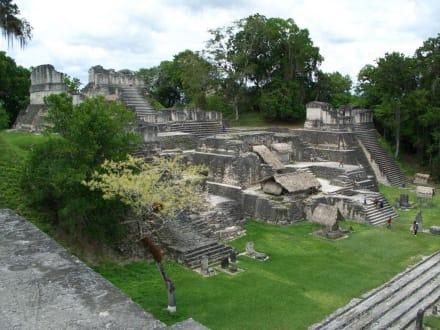 Teil der Anlage - Tikal - Das Erbe der Maya