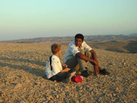 Sonnenuntergang in der Wüste - Wüste