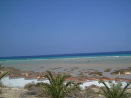 Die Flut ist da - Strand Jandia
