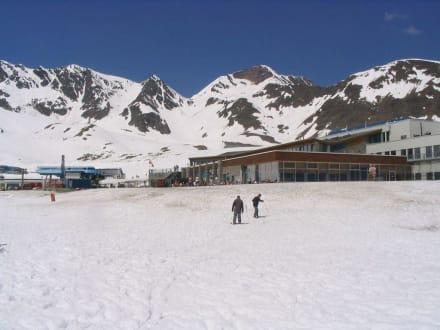 Auf dem Stubaier Gletscher - Stubaier Gletscher