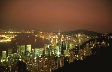 HongKong bei Nacht - Victoria Peak