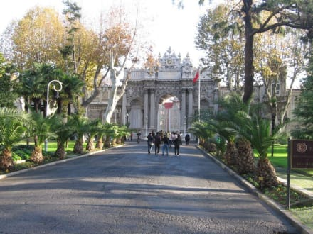 Palast Eingang - Dolmabahce Palast