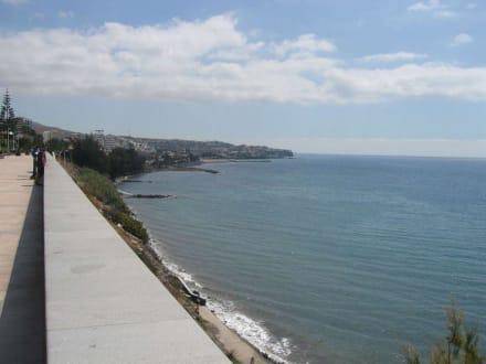 Blick nach San Agustin - Strandpromenade Playa del Inglés