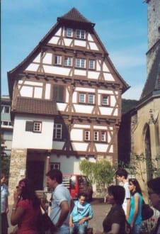 Pfarrhaus aus Fachwerk - Altstadt Geislingen an der Steige