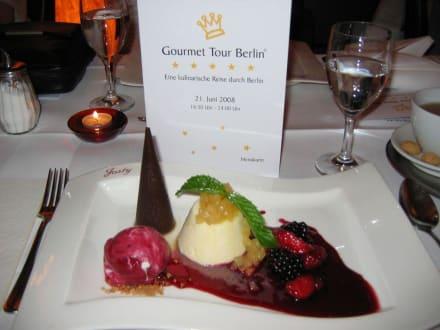 das Dessert  - Gourmet-Tour Berlin
