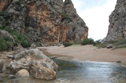Schlucht - Bucht Sa Calobra / Torrent de Pareis