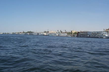 Die Nilkreuzfahrtschiffe - Nil