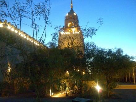 Moschee bei Sonnenuntergang - Moschee El Gouna