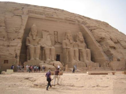 Der Tempel von Ramses II. - Tempel von Abu Simbel
