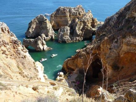 Schön hoch und kein Geländer - Grottenfahrt