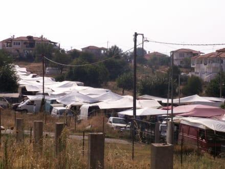 Markt in Nikiti - Markt in Nikiti