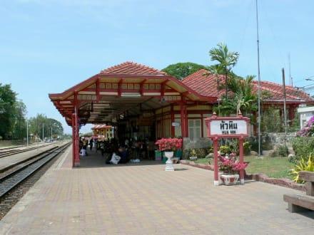Bahnhof von Hua Hin - Historischer Bahnhof von Hua Hin