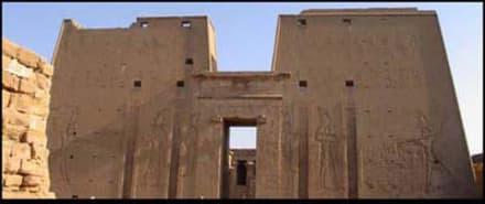 Horus Tempel - Horus Tempel Edfu